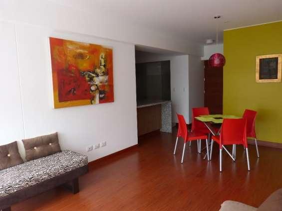 Precioso departamento amoblado impecable 1 dormitorio - miraflores