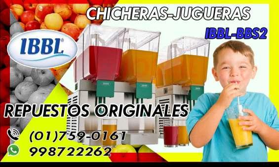 Incredible! repuestos refresqueras ibbl 998722262