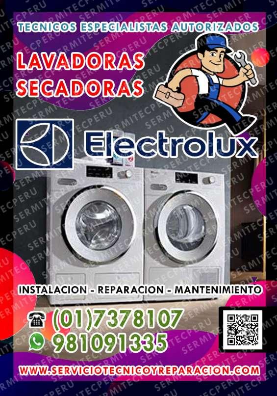 Técnico de secadoras electrolux a domicilio 7378107