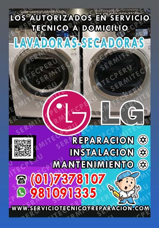 Al toque^^ técnicos expertos lavadoras lg - en barranco