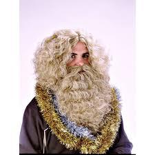 Barbas y peluca rey mago cel : 999023200